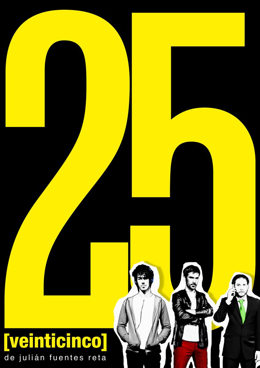25 veinticinco
